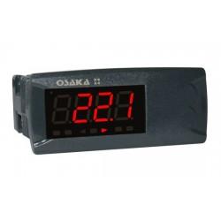 412611 Ind. temperatura 4 dígitos OI22-0 + sonda NTC Osaka