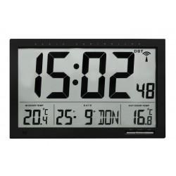 Reloj-calendario Jumbo con temperatura interior y exterior