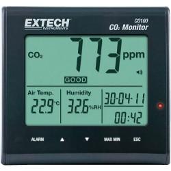 103741 - 62 Medidor de Co2, temperatura y humedad CO-100