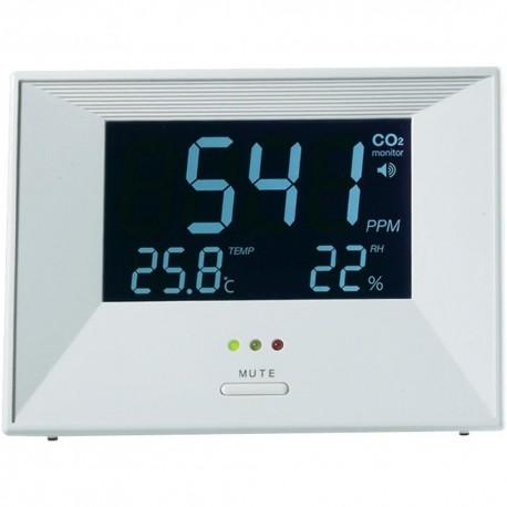 101300 - 62 Medidor de Co2, temperatura y humedad CO-60