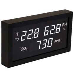 THCO2-A4 Indicador led de temperatura, humedad y CO2 especial piscinas. Termomed