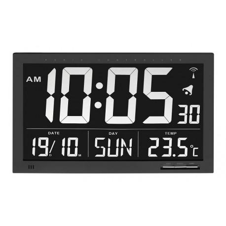 60.4505 Reloj-calendario Jumbo con temperatura interior TFA