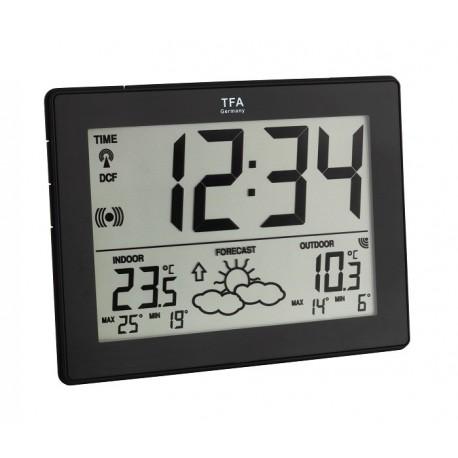35.1125.01.I Reloj-calendario con estación meteorológica TFA