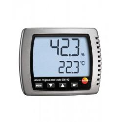 0560 6082 Termohigrómetro TESTO 608-H2 con alarma visual y certificado ISO Testo