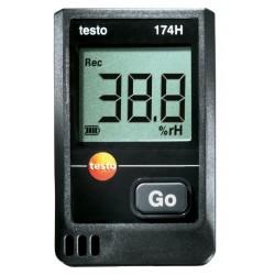 Set datalogger de temperatura y humedad 174-TH con certificado ISO
