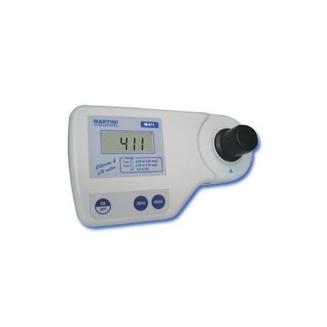 Mi411 Fotómetro de Cloro (Libre y Total) / pH
