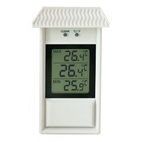 105055 Termómetro digital para pared con memória máxima y mínima Termomed