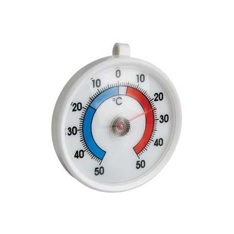 260410 Termómetro redondo para nevera (Ø) 70 mm con soporte para colgar Termomed