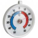 Termómetro redondo para nevera (Ø) 70 mm con soporte para colgar