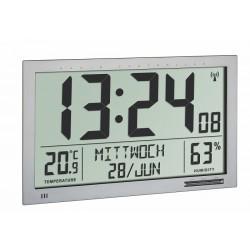 Reloj-calendario Jumbo con temperatura y humedad interior
