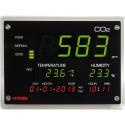 Medidor de CO2, temperatura, humedad y calendario