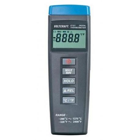 100311-05 Termómetro tipo K con rango de -200ºC a +1.300ºC.