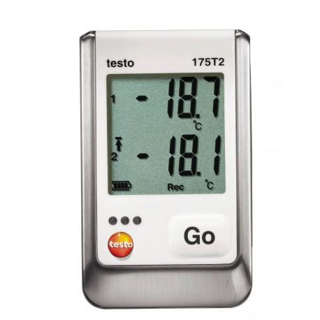 05721752 Data logger testo 175 T2 - Data logger de temperatura de dos canales + sonda externa Testo