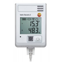 Data logger WiFi testo Saveris 2-H1 con sensores de temperatura y humedad integrados