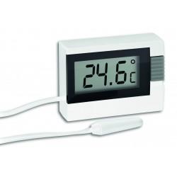 Mini termómetro con sonda exterior