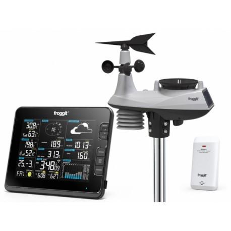 TE6000 Estación meteorológica semiprofesional con conexión a internet mediante wifi TE6000