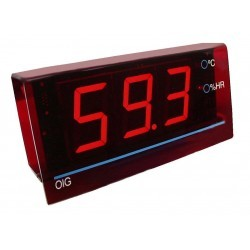 412609 Indicador gran formato de temperatura y humedad