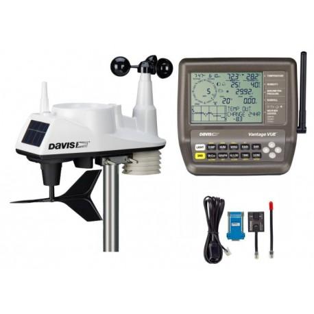 6250 + 651SER Pack Davis Vantage Vue + Datalogger puerto serie Davis Instruments