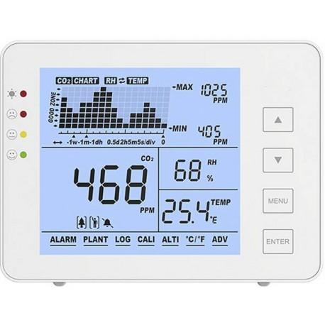 TE1200P Visualizador de CO2, temperatura y humedad TE1200P Envío gratis 24 horas