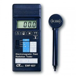 Medidor de campo electromagnético EMF 827