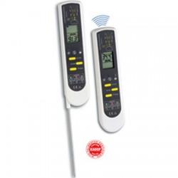 Termómetro de inmersión / penetración + infrarrojos