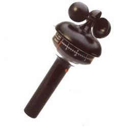 370407 Anemómetro manual mecánico de cazoletas