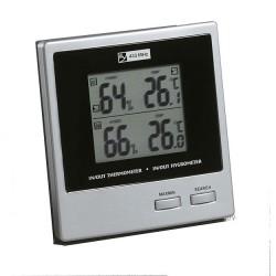 Termohigrómetro con sensor inalámbrico de temperatura y humedad