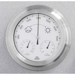 Estación meteorológica analógica redonda