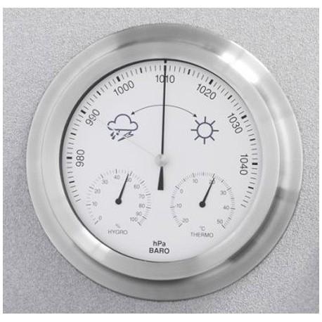 203990 Estación meteorológica analógica redonda Termomed