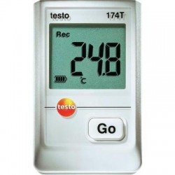 05720561+CR Set Data Logger de temperatura 174-T con certificado ISO Testo