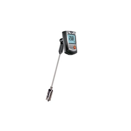 05609056+CRT Testo 905-T2 sonda contacto con certificado ISO Testo