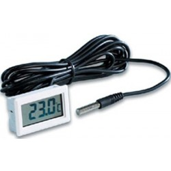 Termómetro Panelable desde -40ºC + 70 ºC. cable 3 mts.